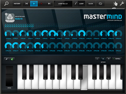 Mastermind Inter-app Controller visual design